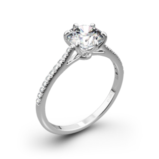 Vatche 1514 Felicity Pave Diamond Engagement Ring