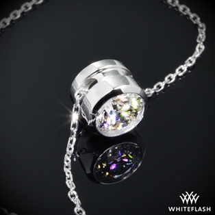 Full Bezel Diamond Pendant